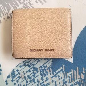 MICHAEL KORS- Leather Wallet
